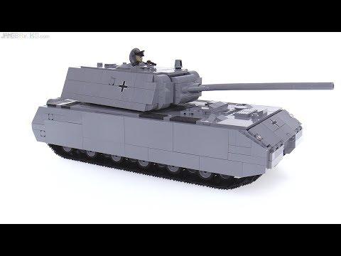 Cobi World of Tanks Panzer VIII Maus review