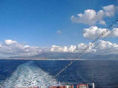 Travel by ship from Greece to Italy (Patra to Ancona)