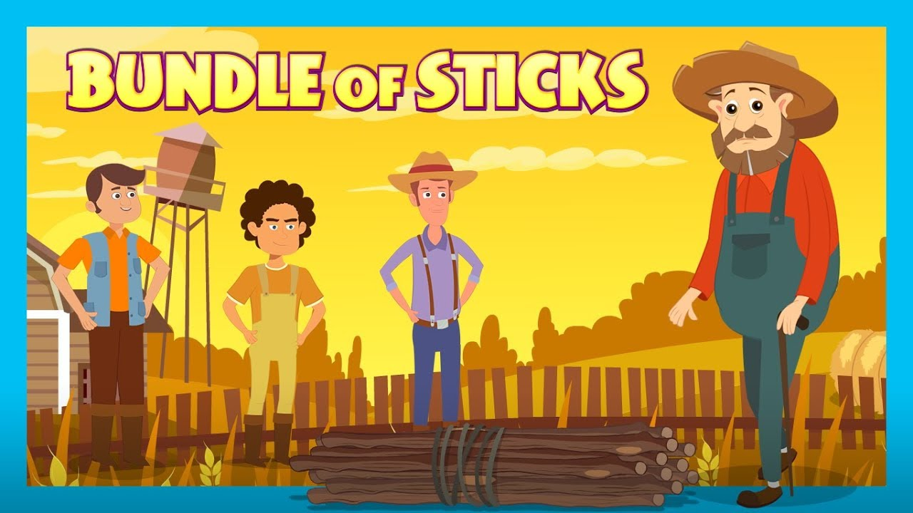 The Bundle Of Sticks Story | Stories for Kids | Kids Hut - YouTube