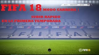 Video Como subir rapidamente en fifa 18 modo carrera un jugador download MP3, 3GP, MP4, WEBM, AVI, FLV April 2018