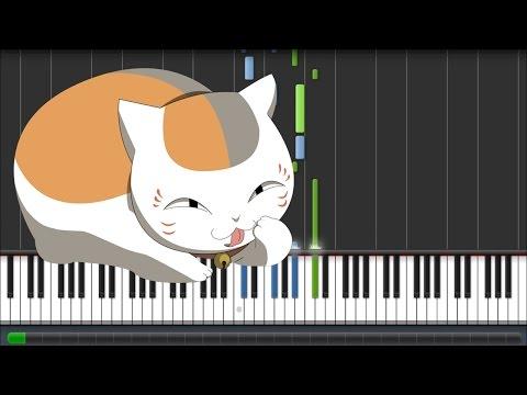 Natsume Yuujinchou Go [夏目友人帳 伍] ED - Akane Sasu (Piano Synthesia Tutorial + Sheet)