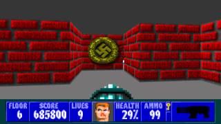 Wolfenstein 3D - Episode 1, Floor 6