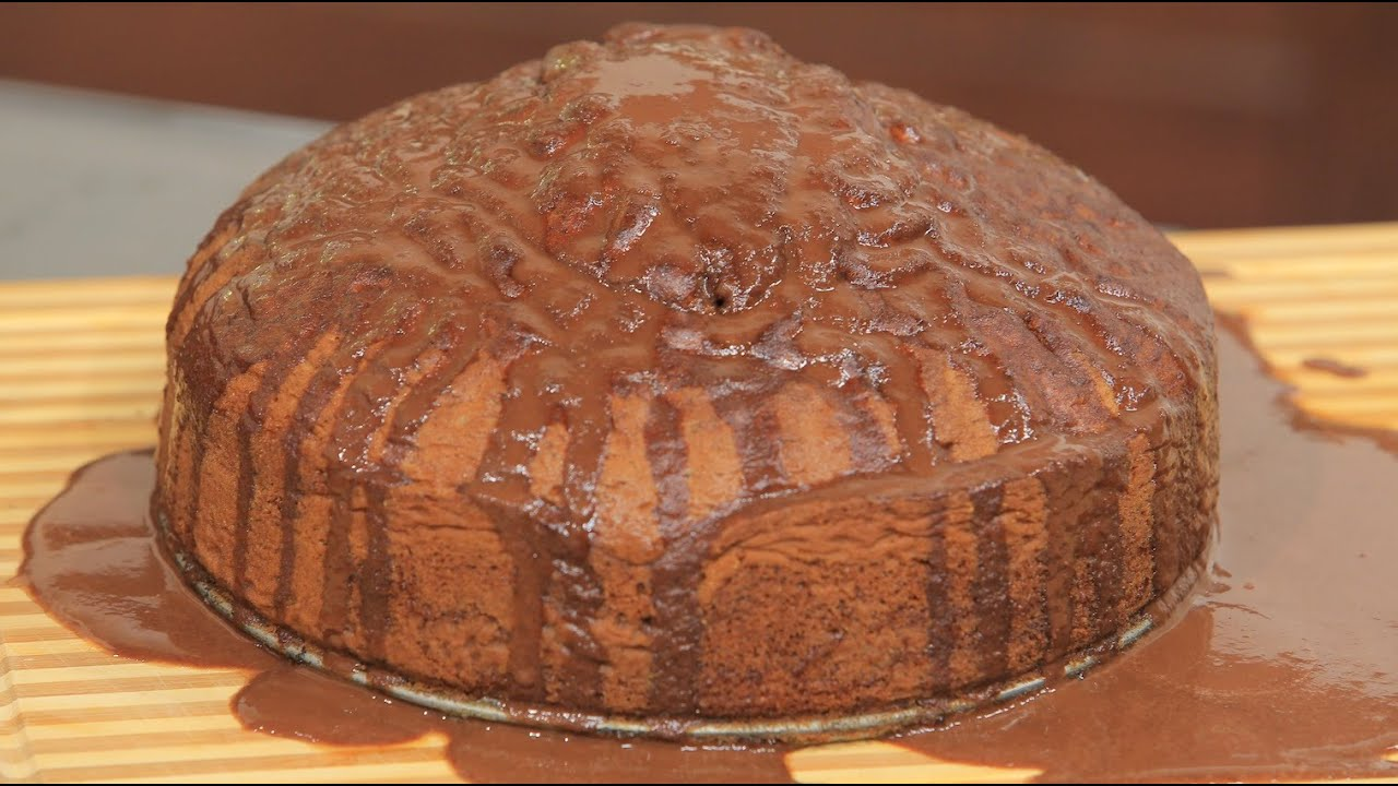 طريقة عمل الكيكة المجنونة