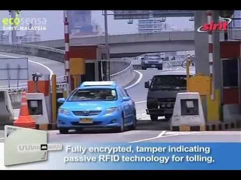 3M MMM FST EVR Sirit Ecosensa Malaysia - AVI Toll RFID Thailand Case Study