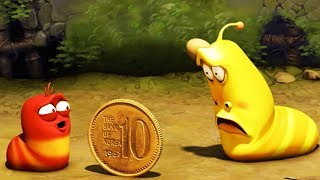 LARVE - COIN TOSS | Larve 2017 | Videos Für Kinder | Larva Cartoon | LARVE Offiziellen