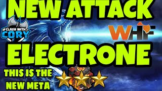 THIS *NEW ATTACK* IS THE *NEW META*! ELECTRONE ATTACK CRUSHING TH10S! CLASH OF CLANS