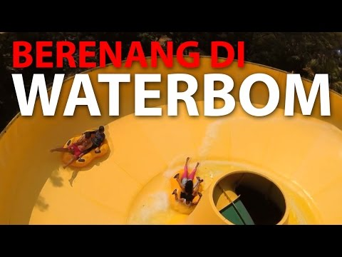 Berenang di Waterbom PIK Jakarta, Ciamik dan Gue Banget