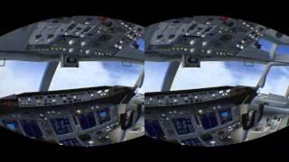 FSX Oculus Rift - IFR / ILS Short Flight - Very Poor Visibility