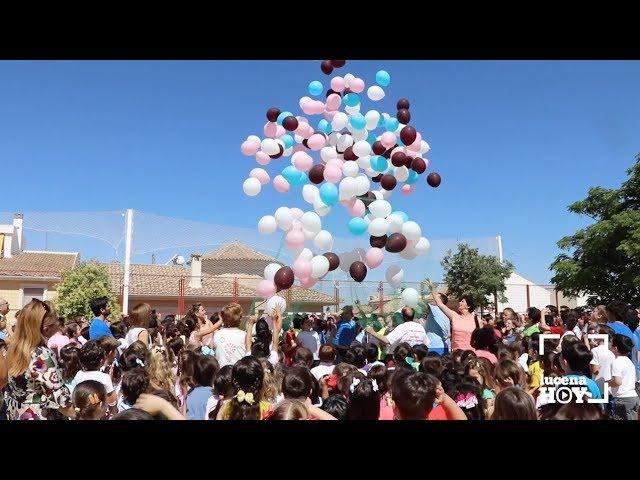 VÍDEO: Los escolares del CEIP El Carmen celebran el Día del Donante con una suelta de globos