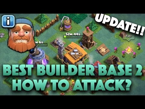 New 2nd Village Update | Best Builder Hall Lvl 2 Base Anti 2 Star | How to Attack/Defense