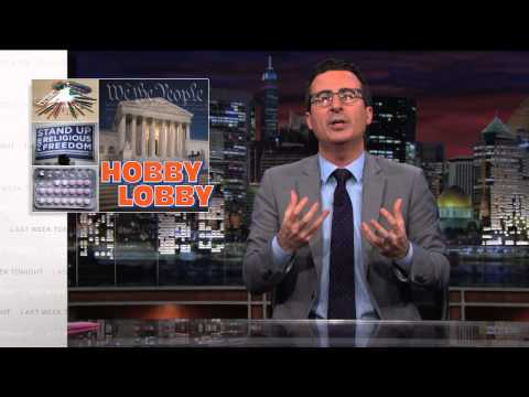 Hobby Lobby: Last Week Tonight with John Oliver (HBO)