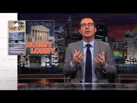 Hobby Lobby: Last Week Tonight with John Oliver (HBO)