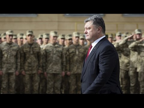 Poroshenko orders forces on border with Crimea and eastern Ukraine on highest alert