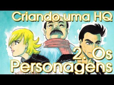 Tutorial - Criando uma História em Quadrinhos - Passo 2: Os Personagens