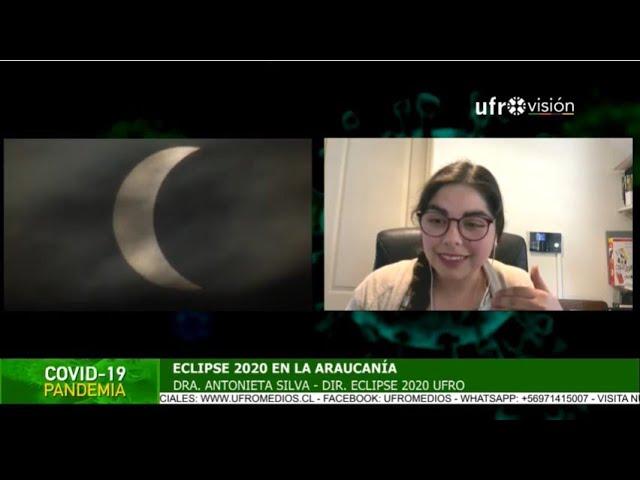 Eclipse 2020 en La Araucanía: Ufrovisión transmitirá en vivo| ESPECIAL COVID-19
