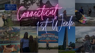 Moving Florida to Connecticut - My First Week Vlog | Naty Rocke | Mystic Devil's Hopyard New London