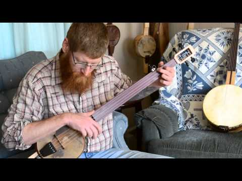 Little Sadie - Grant Custom Banjos - Handmade Appalachian Mountain Old Time Banjo - Fretless