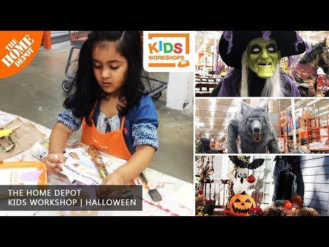 Home Depot Kids Workshop |  Halloween 2019