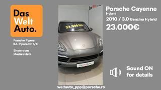 Oferta Saptamanii - Cayenne WalkAround Das WeltAuto - Porsche Pipera