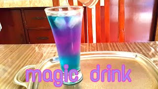 Resep minuman (magic drink)