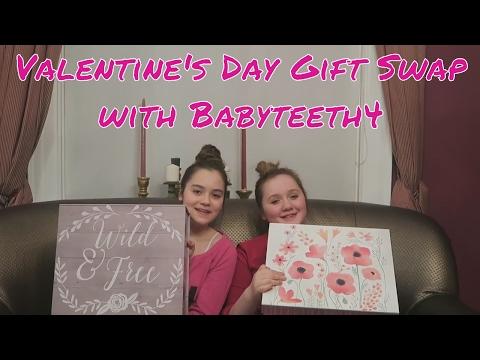 Valentine's Day Gift Swap with Babyteeth4!