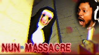 DO NOT WATCH AT NIGHT. OR WITH HIGH VOLUME. | Nun Massacre