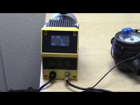 How to Set Up Precision-24 Digital Pulse Metering Pump with Flow Sensor