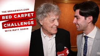 RED CARPET CHALLENGE: TRAVESTIES with Tom Stoppard, Tom Hollander, and more!