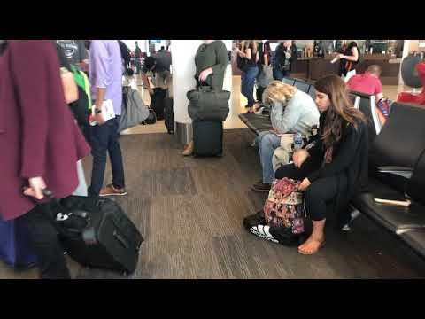 Срач в аэропорту Сан-Франциско