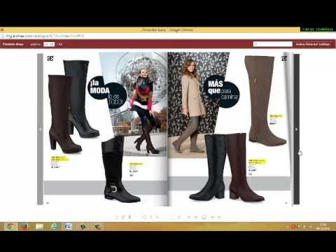 Catalogo andrea botas oto o invierno 2014 calzado youtube for Nuovo arredo andria catalogo
