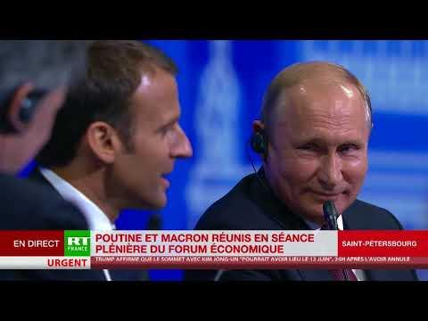 «Emmanuel, il ne faut pas avoir peur» - «Vladimir, je n'ai pas peur»
