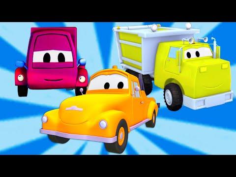 Tom la Dépanneuse avec le Camion Benne et la Camionnette ! | Dessin animé pour enfants