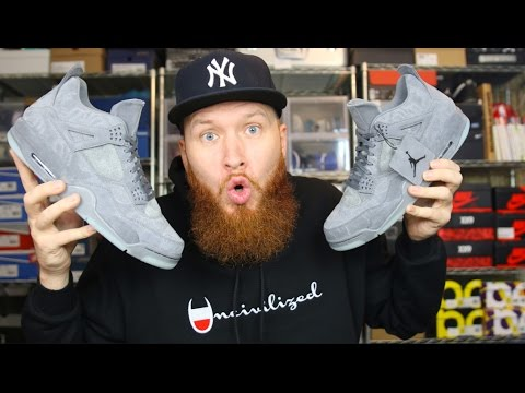 182d67d2fbe AIR JORDAN 4 KAWS!!!! THE MOST HYPED SNEAKER OF 2017?!?! - YouTube