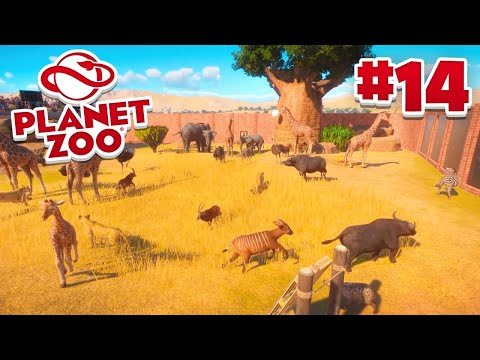 RELEASING ALL MY ANIMALS! - Planet Zoo #14 w/ Vikkstar