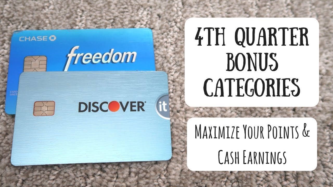 4th quarter rotating bonus categories for 2017 chase freedom 4th quarter rotating bonus categories for 2017 chase freedom discover it citi dividend magicingreecefo Image collections