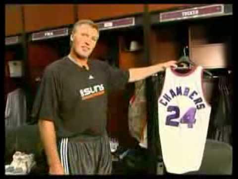 Tom Chambers 2009 NBA Comeback Pt. 1
