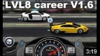 drag Racing Lamborghini Murcielago LP 670-4 5V level 8 - 1 mile race against  MC12 Corsa