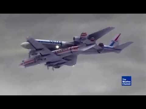 United Airlines Flight 826 / TWA Flight 266 - Crash Animation