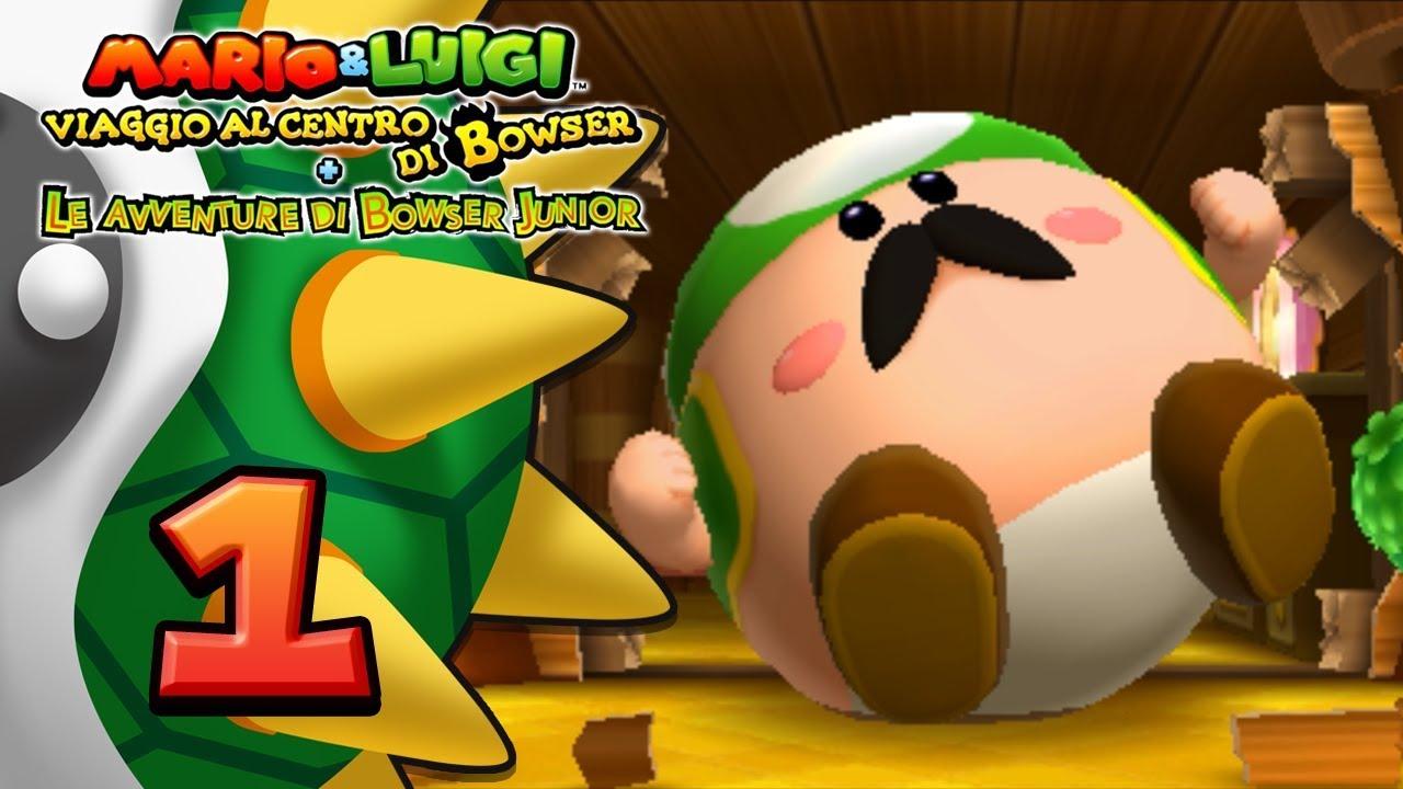 Mario e luigi viaggio al centro di bowser scarica