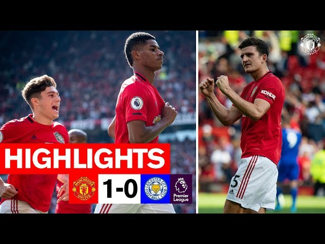 Highlights | Manchester United 1-0 Leicester | Premier League | Rashford nets the winner!