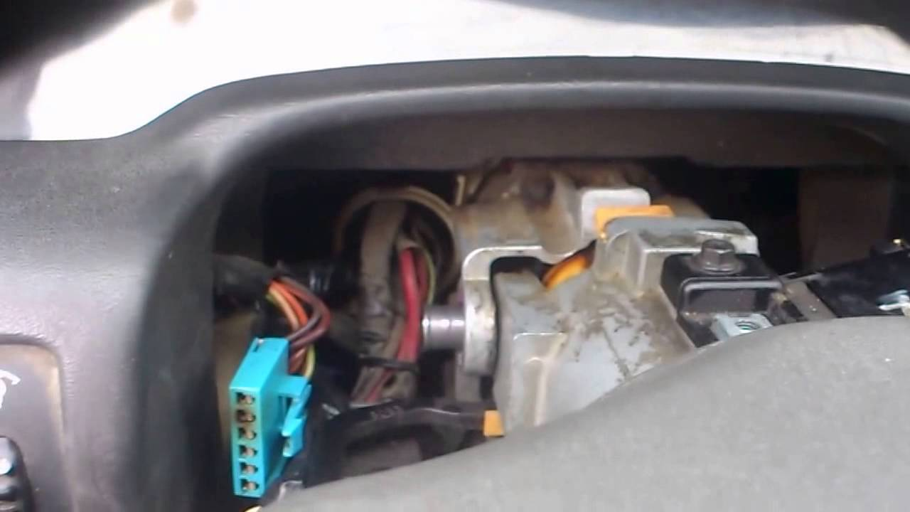How to fix the steering wheel column Chevy cavalier 95 ...