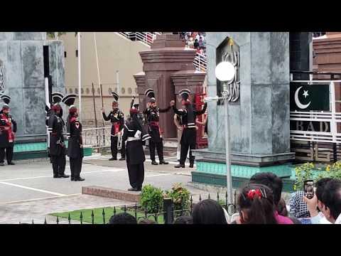Wagah Border Flag Ceremony, Lahore Pakistan
