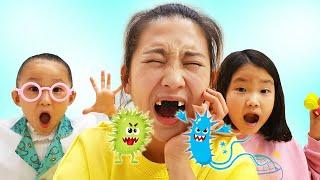 LoveStar have Fun Hospital Dentist play