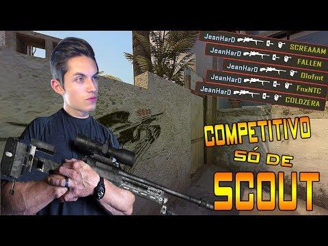 JOGANDO COMP SÓ DE SCOUT !! (PARTIDA ÉPICA) | CS:GO |