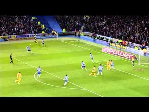 Brighton 0-2 Crystal Palace – Championship Play-Off Semi-Final – 13th May 2013