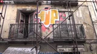 1 up Graffiti bombing