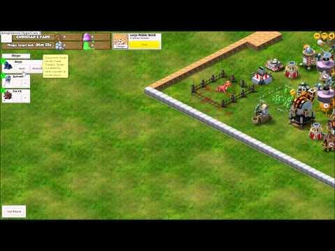 Gorgo vs Drull (Backyard Monsters)