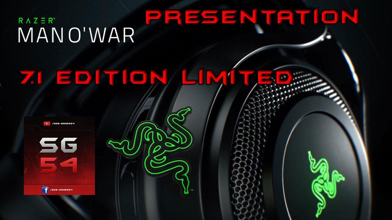 Fr Presentation Test Casque Razer Mano War 7 1 Edition Limited Youtube