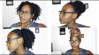 Braidless Crochet Method: Natural Hairstyles For Thin/Fine Natural 4C Hair  (FULL ROUTINE)