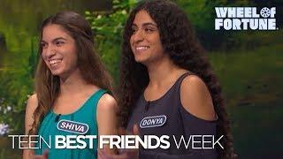 Teen Best Friends Week | Wheel of Fortune